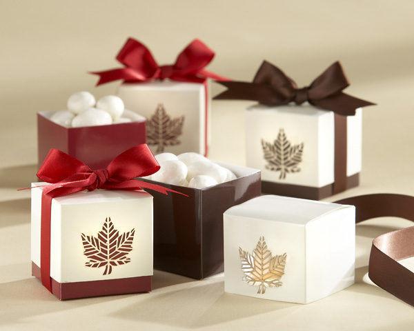 6元/包装盒枫叶喜糖盒(50个) 婚礼用品 结婚用品 婚礼小物 ht-0032